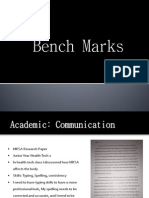 benchmarks powerpoint