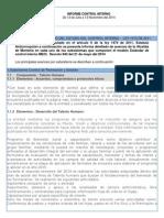3 Informe Control Interno Pormenorizado a Noviembre 12- 2014