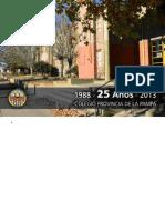 25 Años Colegio Provincia de La Pampa