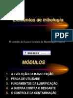 Elementos de Tribologia.