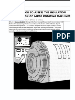 Handbook to Assess the Insulation Condition of Large Rotating Machines