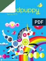 Mudpuppy Spring 15 Catalog