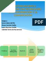 BIENESTAR DOCENTE E INNOVACIÓN CON TECNOLOGÍAS DE LA INFORMACIÓN Y LA COMUNICACIÓN