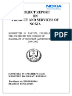 Project-Report on Nokia