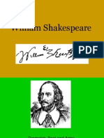 William Shakespeare, short presentation,main information about his life, books and quotations