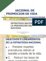 Plan Nacional de Promocion de Vida