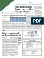 Nuevo Leon sobresale en desarrollo de Bitcoin