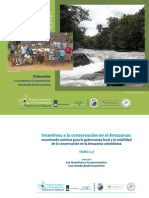 TOMO 2.2 Incentivos a la conservación en el Amazonas
