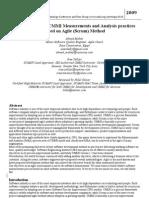 [AgileCMMI] Practical Report