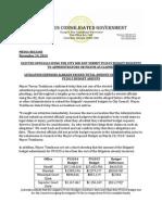 MediaRelease 111414 ElectedOfficialLitigation