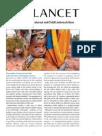 Lancet_MaternalChild Nutrition ExecutiveSummary