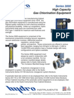 Gas Chlorination Equipment Series 3000