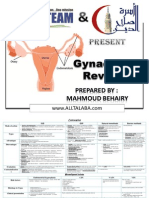 Gyneacology Revision by All Team