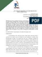 A Abordagem Da Variação Linguística No Livro Didático de Língua Portuguesa(1)
