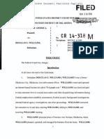 Douglas Williams Indictment