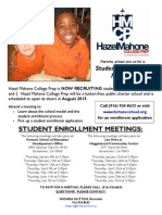 HMCP 2014-2015 Student Enrollment Meeting