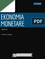 Ekonomia Monetare Ligjerata Dr.dritonQehaja Ek
