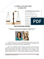 Appellate Record November 2014