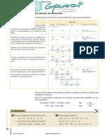 preparación algebra