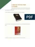 Os 10 Livros Mais Vendidos Do Mundo