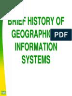 History of GIS
