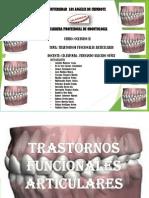 TRASTORNOS FUNCIOANALES ARTICULARES