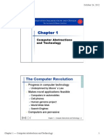 Chapter 1 Computer Abstractions and Technology