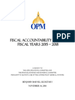 Fiscal Accountability Report