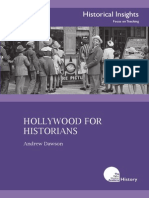 Hollywood for Historians