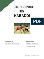 kabddi
