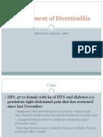 Diverticulitis case presentation