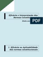 Eficácia e Interpretação das Normas Constitucionais.pptx