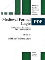 (The New Synthese Historical Library volume 49) Mikko Yrjönsuuri (ed.)-Medieval Formal Logic_ Obligations, Insolubles and Consequences-Kluwer Academic Publishers (2000).pdf