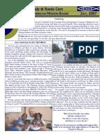 July 2007 Newsletter 1
