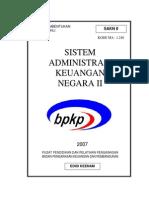 Sistem Administrasi Keuangan Negara II