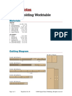 Folding Worktable