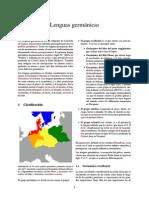 Lenguas Germánicas