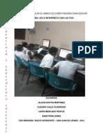 Proyecto  de Aula en El Marco de Computadores Para Educar ..Actualizado