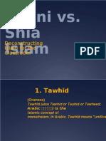 Sunni vs. Shia Islam