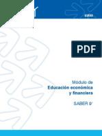 ICFES.  Educación Económica y Financiera para Prueba grado 9°  2014-2