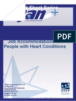 Job Accommodations for People with Heart Conditions