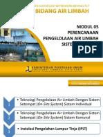 REV - Modul 05-AL Perencanaan Pengolahan Sistem Setempat (on-Site System) 2013 Versi 2