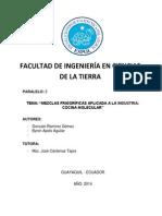 Mezcla Frigorifica Proyecto de Lab