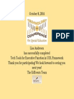 tech tools for executive function in udl framework