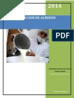 Informe de Extraccion de Almidon de Camote