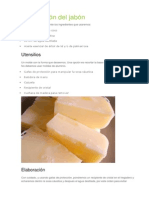 Elaboración Del Jabón para varices