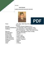 Latar Belakang Tunku Abdul Rahman