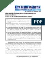 BRS Inflasi PADANG September 2014