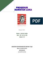 MAKALAH PERAWATAN LUKA 1.doc