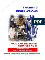 TR Food and Beverage Services NC II
